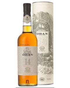 Oban 14 Year Old Single Malt Scotch Whisky 700ml 43%