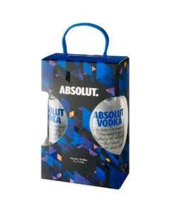 Absolut Vodka Sweden Original 1L Twin Pack 40%