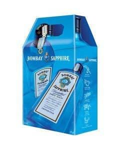 Bombay sapphire twin pack 2 x 1l