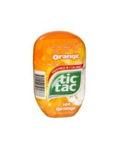 Tic tac orange bottle 98 g