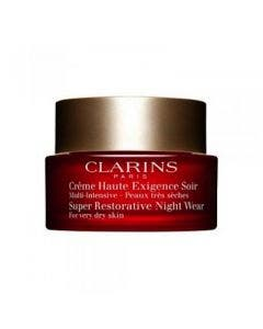Clarins super restorative night cream dry 50ml