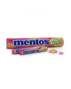 Mentos jumbrolls fruit mix 8 pack 296g