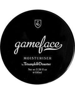 Triumph & disaster gameface moisturiser jar 100ml