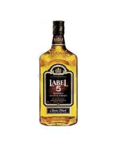 Label 5 whisky 1l