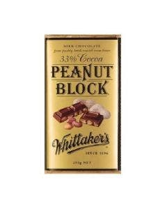Whittakers peanut block 250g