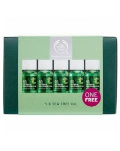 Body shop set 5 tea tree oil