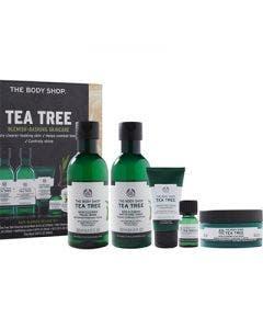 The body shop set 5 tea tree gel