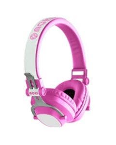 Moki exo kids bluetooth headphones pink