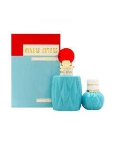 Miu miu by miu miu parfums for women   2 piece set includes: 3.4 oz eau de parfum spray + 0.67 oz eau de parfum spray