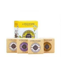 L`occitane soap quartet