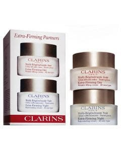 Clarins set extra firming partners set day & night