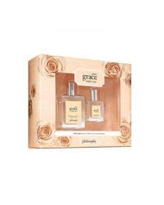 Philosophy pure grace nude rose edt 60 + pure grace nude rose edt 15 set