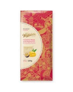 Whittaker's destinations mango and pasionfruit in white chocolate 100g