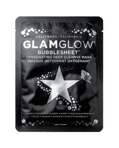 Glam glow bubblesheet oxygenating deep cleanse mask