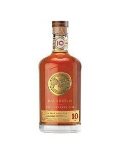 Bacardi rum gran reserva diez 10 year old rum 750ml 40%