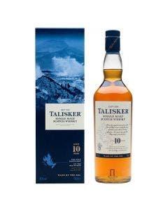 Talisker 10 Year Old Single Malt Scotch Whisky 1.0 Litre 45.8%