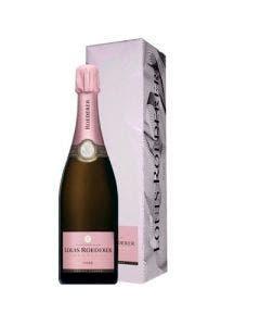 Louis roederer brut rose millesime champagne 750ml 12%