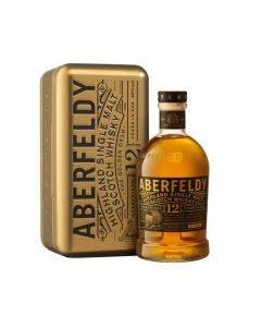Aberfeldy 12 Year Old Whisky 1L Gold Bar 40%